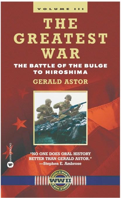 the greatest war volume iii astor gerald