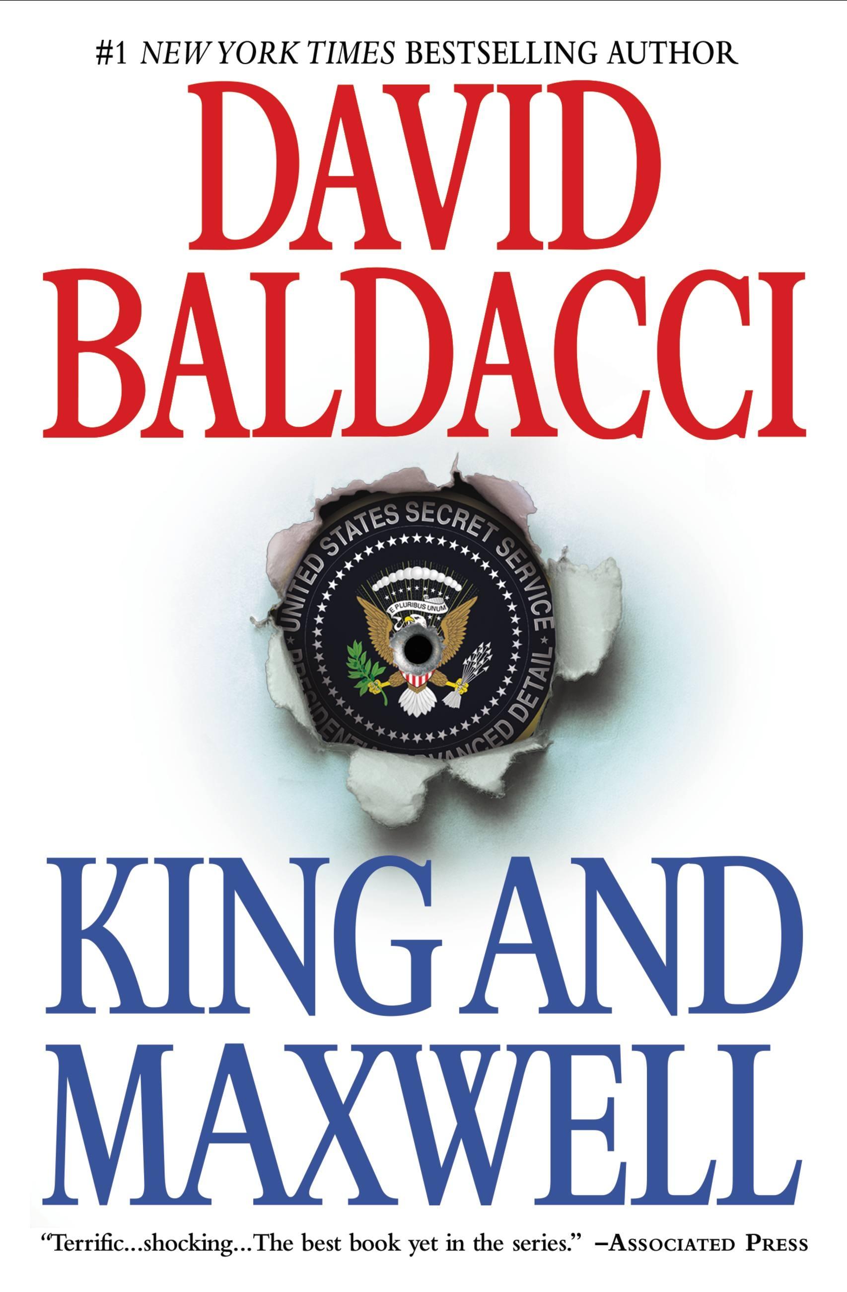 baldacci sean king and michelle maxwell series